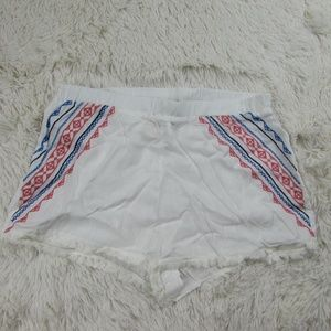 Flying Tomato Women's Embroidered Shorts Summer